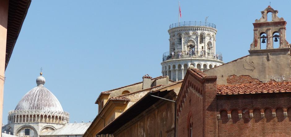 A pochi passi dalla Torre di Pisa