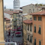 7Rooms B&B Pisa - Suite Torre - Vista Torre