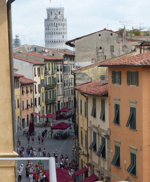 7Rooms B&B Pisa - Suite Torre - Vista Torre