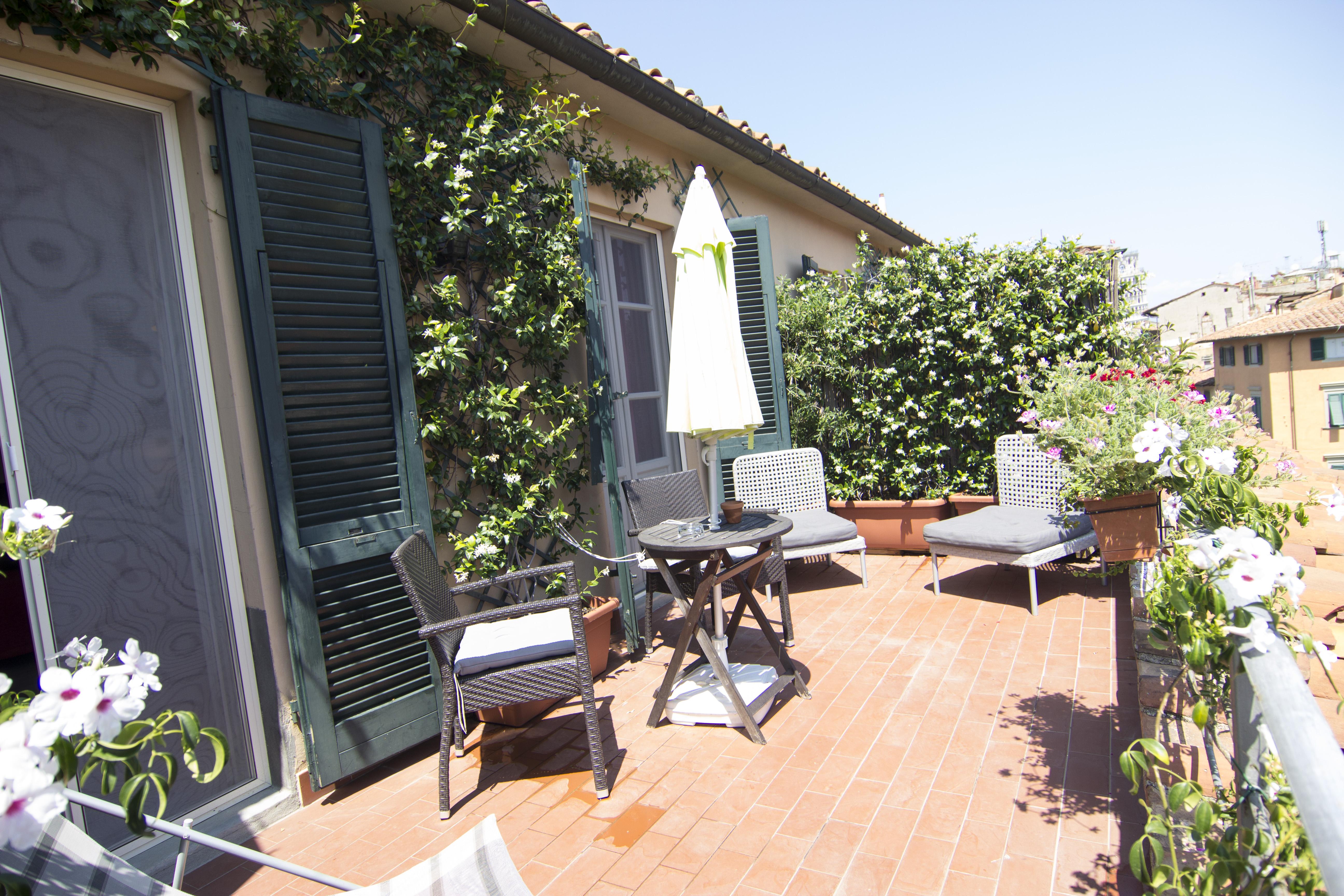 7Rooms B&B Pisa - Suite Dei Mille - Terrazzino privato